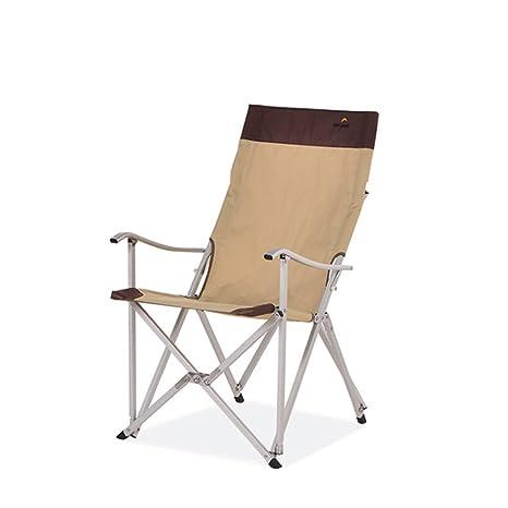 Gghy-camping tables Silla Plegable de Aluminio para ...