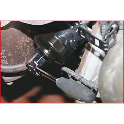 """KS Tools 150.9321 Clé à filtre à huile 3/8"""" Diamètre 65 mm durable service"""