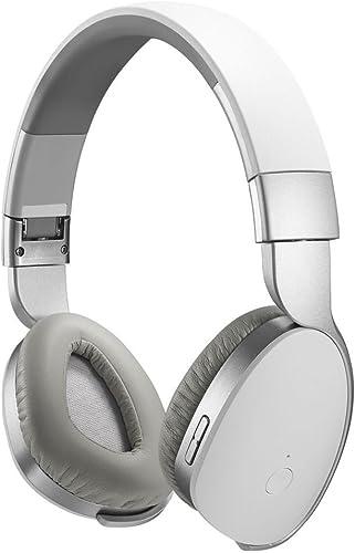 Auriculares Bluetooth, Kinden auricular inalámbrico y alámbrico Audio Música estéreo auriculares con cancelación de ruido con micrófono Manos libres para iPhone, iPad, Samsung TV y otros Smartphone Tablet Laptop: Amazon.es: Electrónica