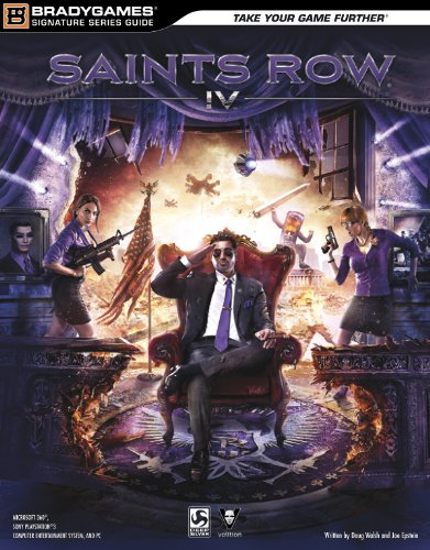 Saints Row IV Signature Series Strategy Guide (Bradygames Signature Series - Row The Online