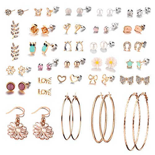 28 Pairs Assorted Multiple Stud ...