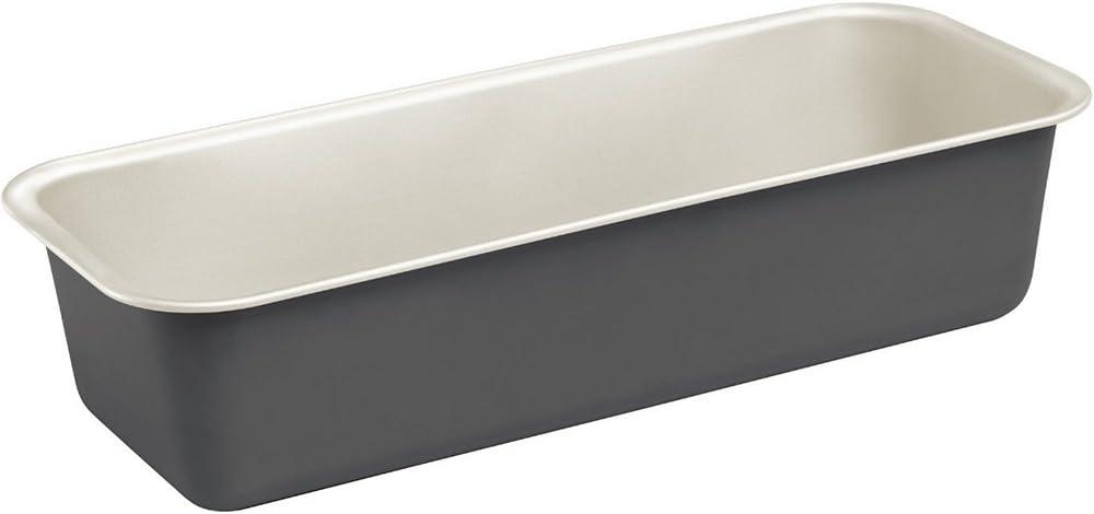 30 x 11 x 7.5 cm Keramik Alpfa K/önigskuchenform tiefgezogen 30cm in schwarz//Creme