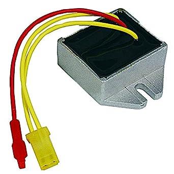 Stens 435-195 Voltage Regulator, Replaces Briggs and Stratton: 393374,  394890, 691185, 797375, 845907, John Deere: Lg691185, Miu12514, Amp Style:  16