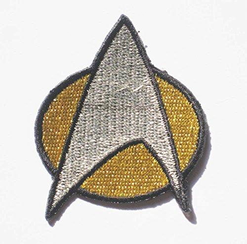 STAR TREK NEXT GENERATION UNIFORM sew iron on Patch Badge Embroidery 5x6 cm 2