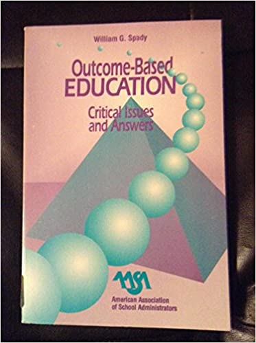Outcome Based Education: Critical Issues