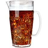 8 oz pitcher with lid - Lily's Home Break Resistant Indoor / Outdoor Plastic Pitcher