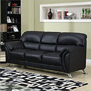Global furniture vinyl matching sofa with for Buy sofa online usa