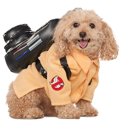 The Dog Beagle Costume (Ghostbusters Movie Pet Costume, Large, Ghostbuster Jumpsuit)