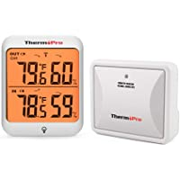 ThermoPro TP63A Termómetro Higrometro para Interior y Exterior