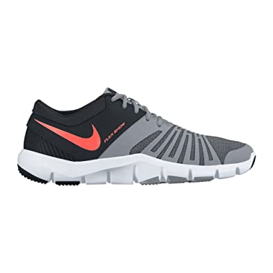 New Nike Men's Flex Show TR 5 Cross Trainer Stealth/Hyper Orange 8.5