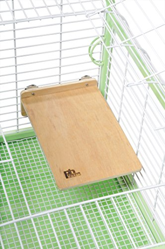 31auKvBAYKL Prevue Pet Products 3201 Large Wood Platform for Small Animal Cages