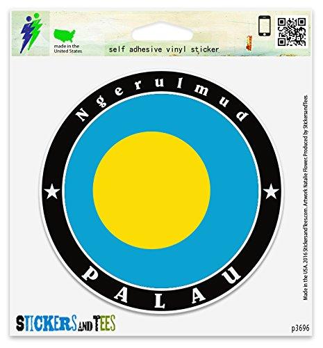 Palau Ngerulmud Vinyl Car Bumper Window Sticker 4