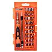 Amazon Lightning Deal 73% claimed: Precision Screwdriver Set with 54 Bit Magnetic Driver Kit, Dailymate 58 in 1 Electronics Repair Tool Kit for iPhone/ Xbox/Cellphone/Laptops/ MacBook /PC