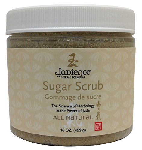 Jadience Detox Sugar Scrub: Cleanse & Help Relieve Rashes & Other Skin Irritations | Made with Shea Butter, Ginseng & Organic Raw Cane Sugar to Naturally Exfoliate the Body & Feet for Smooth Skin