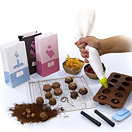 Chocolate Making Kit Accessories And Recipe Cards Amazon