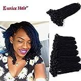 Best Hair For Crochet Braids - Eunice 6 Packs 12 Inch Black Crochet Hair Review