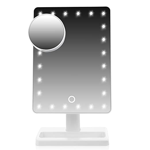 WanEway Large Lighted Makeup Vanity Dressing Table Mirror with 24 LED Light