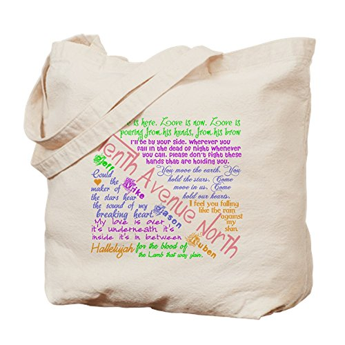 CafePress - Tenth Avenue North Bright - Natural Canvas Tote Bag, Cloth Shopping - Shopping North Avenue