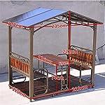 HLZY-Gazebo-Permanente-per-Patio-Lawn-Patio-Gazebo-Outdoor-Canopy-Gazebo-Backyard-Creations-Patio-Padiglione-per-Giardino-del-Patio-a-Bordo-Piscina
