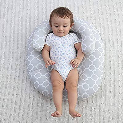 LOHOME Newborn Sleep Positioner Anti-Spitting Milk Pillow Portable Baby Sleeping Pad Cushion Mattress for Toddlers