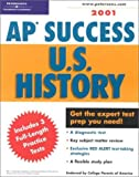 AP Success Us History 2001, Peterson's Guides Staff, 0768905001