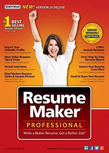 ResumeMaker Professional Deluxe 20 Windows 8148544