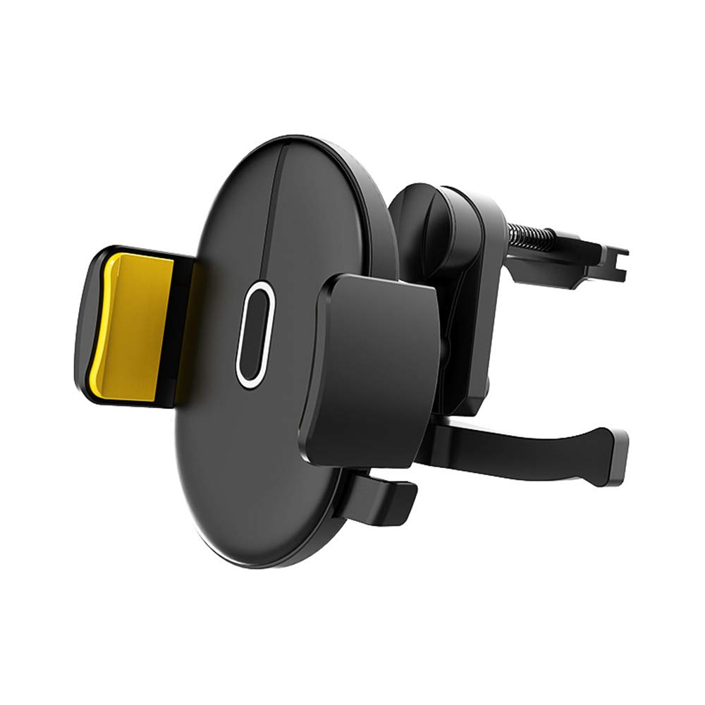Black IMIFUN Easy Fixed Universal Phone Holder Car Mount Holder for iPhone Xs Max XR 8 7 6 Plus SE Samsung Galaxy S8 Plus S8 S9 S9 Plus Note 8 5 Edge S7 S6 Nokia and More