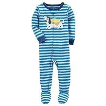 Carter's Baby Boys' 2T-5T One Piece Dinosaur Snug Fit Cotton Pajamas