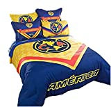 JORGE'S HOME FASHION INC Limited Edition Mexican Soccer Club America License Teens Boys Comforter Set 3 PCS Queen Size