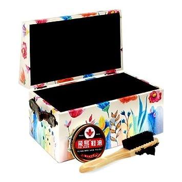 X Cajas 5 Amazon es 16 Cm Kit Con Flores 25 Caja Limpiazapatos Hogar 16 Limpieza 5 Decorativa Uso YqwWpCv