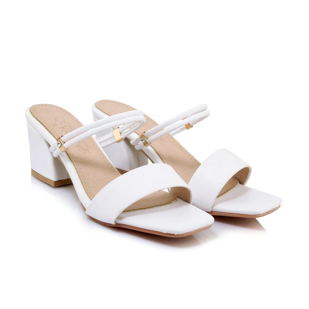 Sandales Pantoufles pour Hauts, Femmes, Talons Hauts, B000LSXRV0 Pantoufles Blanc e0a5793 - shopssong.space