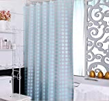 JaHGDU Shower Curtain 1pcs Shower Curtains Mildew Pink Opaque Waterproof Thicker PEVA Bathroom Cut Curtains Curtains Hanging Curtain Stripe 180cm200cm (Color : 150cm200cm, Size : 2)