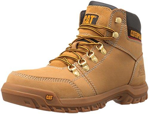 Caterpillar Men's Outline Work Boot, Honey Reset, 10.5 W US