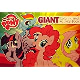 """My Little Pony ~ Oversized Giant Coloring & Activity Book ~ Games Mazes Puzzles 16"""" X 11"""" 24 Pages"""