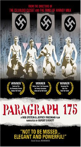Paragraph 175 (Documentary) [Vhs]