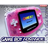 Game Boy Advance Konsole Clear Red