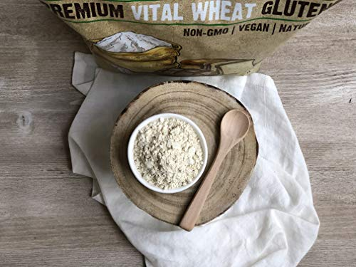 Anthony's Vital Wheat Gluten, 4 lb, High in Protein, Vegan, Non GMO, Keto Friendly, Low Carb 6