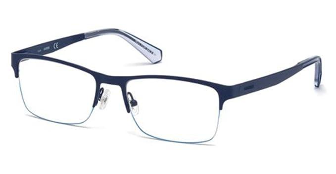 688cf3ba4ad Eyeglasses Guess GU 1936 091 matte blue at Amazon Men s Clothing store