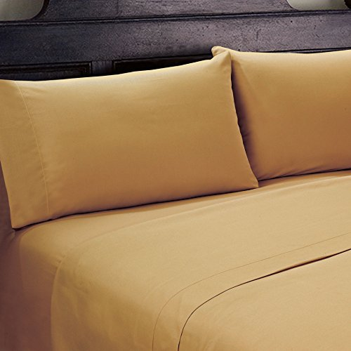 Serenta 1600 Series 90GSM Solid Supreme Bedding Bed Sheets a
