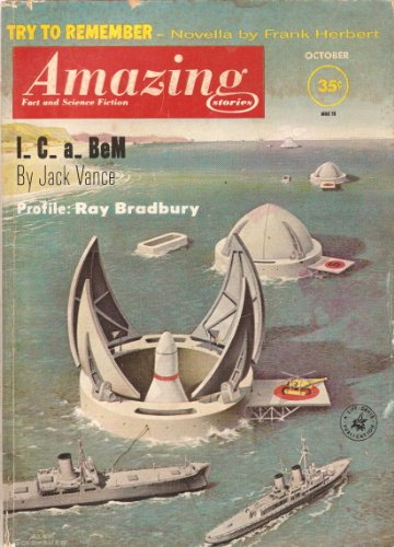 Amazing Stories Magazine October 1961