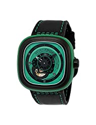 Sevenfriday Industrial Essence Green Dial Automatic Mens Watch P1-5