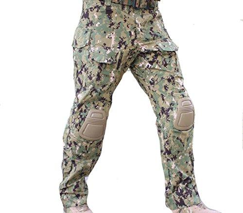 popper cargo pants - 3