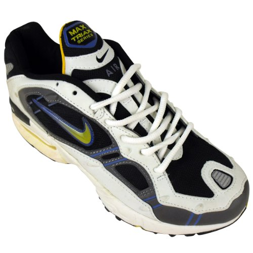 43fb444b5193 Nike Mens Air Max Triax Trainer Deadstock Trainers Retro Running Shoes UK  7.5 Black White