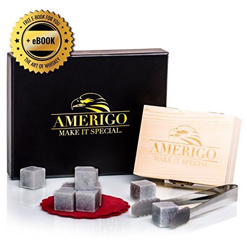 Luxury Whiskey Stones Gift Amerigo product image