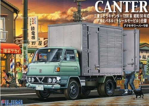 1/32 Mitsubishi Fuso Canter Series T200 The 1975 Expression Aluminum Panel (Trail Mobil) Specifications (Model Car)