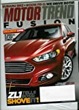img - for Motor Trend Magazine March 2012 Fusion + ZL1 Tells Boss: Shove It! + Honda CR-V & Chevy Malibu book / textbook / text book