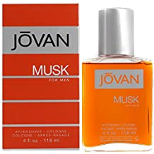 Jovan Musk By Jovan For Men. Aftershave/Cologne Splash 4.0oz Bottle