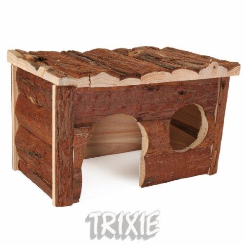Trixie 62182 Natural Living Jerrik Blockhaus, 28 × 16 × 18 cm