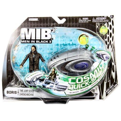 Men In Black 3 (MIB3) Basic Figure w/Large Accessory Pack: Boris & Time Jump - Black Men J Agent In 3