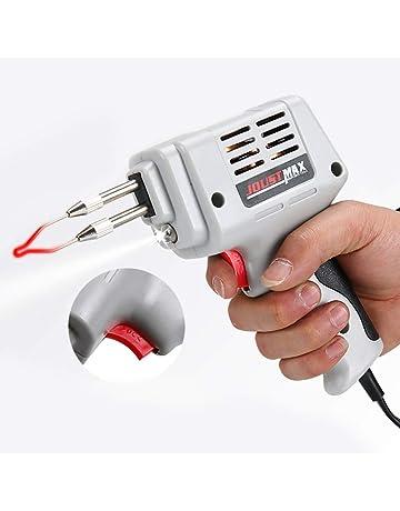 Eléctrico Soldador Pistola Estaño Kit, Pistola de Soldadura Automática Mano Soldadura Calor Eléctrico Reparación Soldador